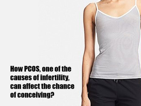 How PCOS, one of the causes of infertility, can affect the chance of conceiving?